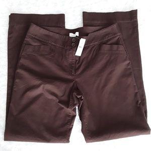 NWT Ann Taylor Loft Brown Casual Pants